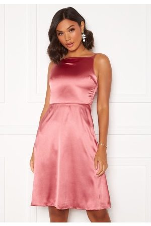 Moments New York Laylani Satin Dress Pink 42