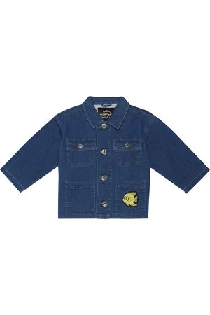 Mini Rodini Fish Safari denim jacket