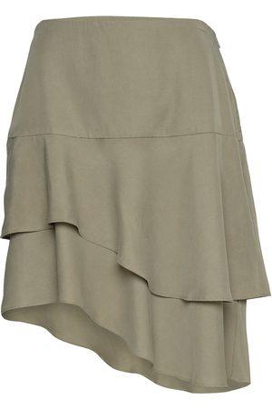 Bruuns Bazaar Naiset Midihameet - Laera Dolphine Skirt Polvipituinen Hame