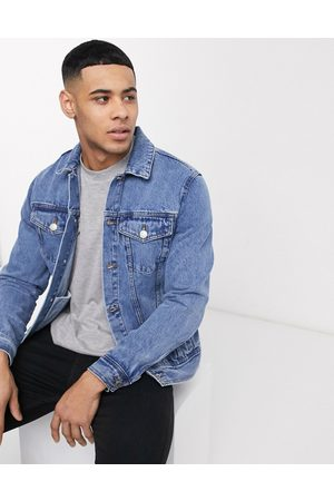 New Look Miehet Farkkutakit - Denim jacket in light blue wash