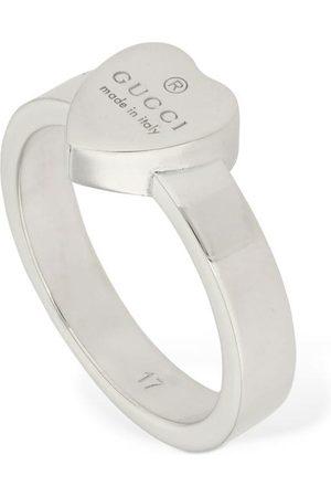 Gucci Logo Heart Ring