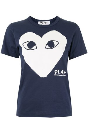Comme Des Garçons Play Logo-print T-shirt