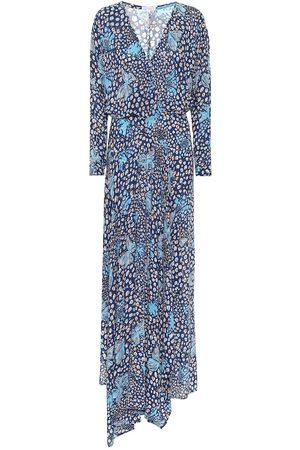 POUPETTE ST BARTH Ilona printed asymmetric maxi dress