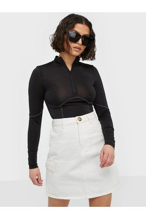 Gina Tricot Cargo Denim Skirt