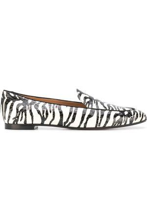 Aquazzura Zebra pattern loafers