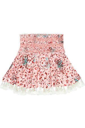 POUPETTE ST BARTH Mara printed miniskirt