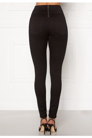 Pieces Highwaist Soft Jeggings Black S