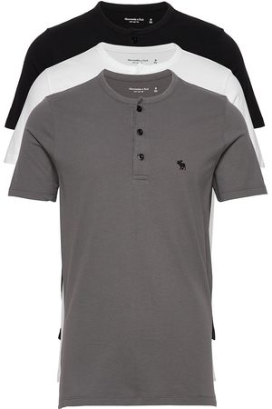 Abercrombie & Fitch Henley Multipack T-shirts Short-sleeved