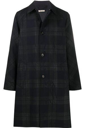 Marni Check trench coat