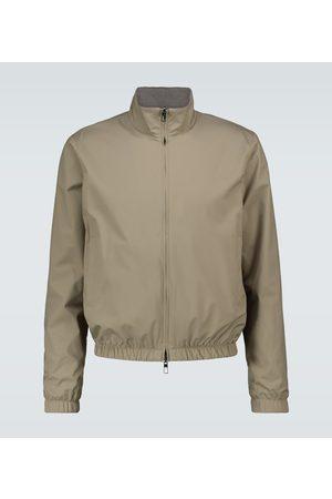 Loro Piana Miehet Bomber - Windmate® reversible bomber jacket