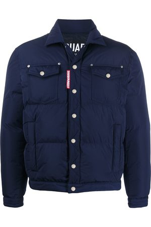 Dsquared2 Miehet Untuvatakit - Padded trucker jacket