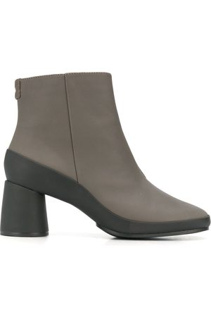 Camper Upright two-tone ankle boots