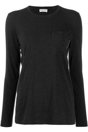 Brunello Cucinelli Naiset Pitkähihaiset - Long-sleeved T-shirt