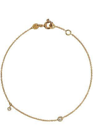 White Bird Naiset Rannekorut - 18kt yellow gold diamond chain bracelet