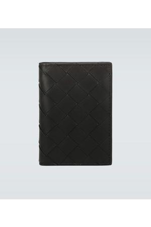 Bottega Veneta Folded leather cardholder