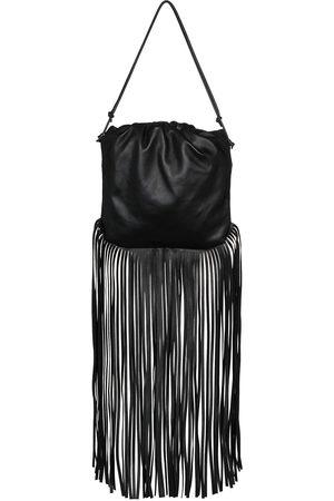 Bottega Veneta Naiset Olkalaukut - Fringed leather shoulder bag