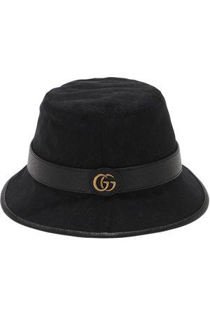 Gucci Gg Cotton Canvas Bucket Hat