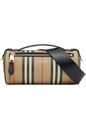 Burberry The Vintage Check barrel bag