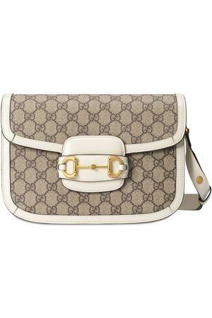 Gucci 1955 Horsebit Gg Supreme Canvas Bag