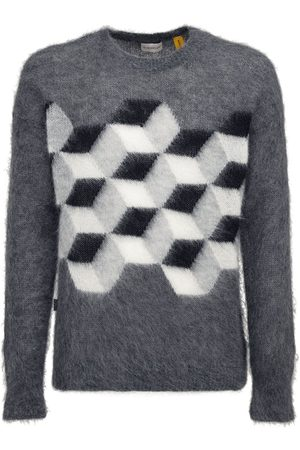 Moncler Genius Fragment Mohair Blend Knit Sweater