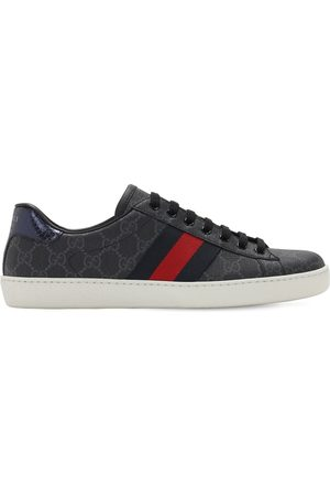 Gucci New Ace Coated Gg Supreme Sneakers