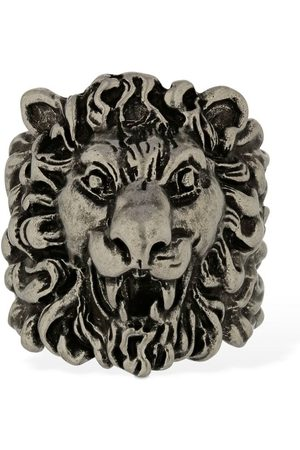 Gucci Naiset Sormukset - Lionhead Thick Ring