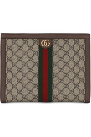 Gucci Naiset Clutch laukut - Ophidia Gg Supreme Squared Zip Pouch