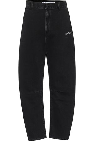 OFF-WHITE High-rise tapered jeans