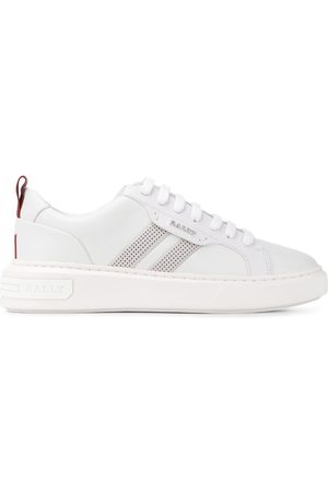 Bally Maxim perforated stripe sneakers
