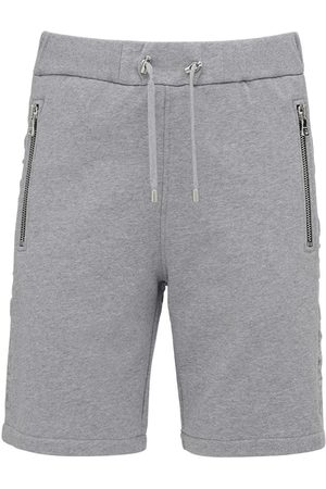 Balmain Miehet Shortsit - Embossed Logo Cotton Jersey Shorts