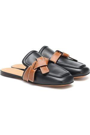 Loewe Naiset Tohvelit - Gate leather slippers