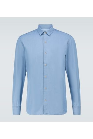 Frescobol Carioca Long-sleeved cotton shirt