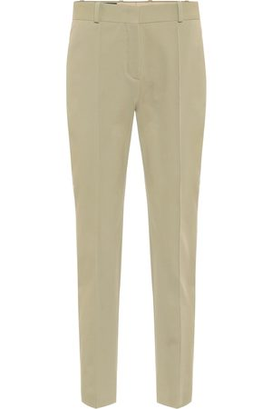 Loro Piana Stretch-cotton cigarette pants