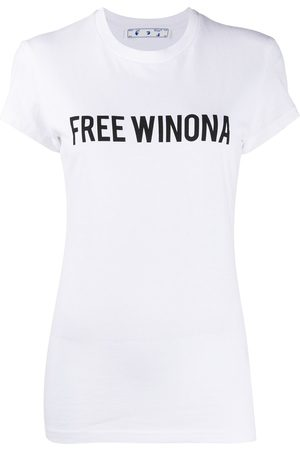 OFF-WHITE WINONA FITTED TEE BLACK