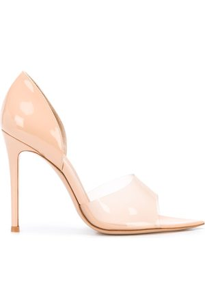 Gianvito Rossi Frosted strap pumps