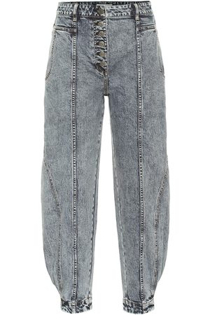 ULLA JOHNSON Naiset Korkeavyötäröiset - Brodie high-rise tapered jeans