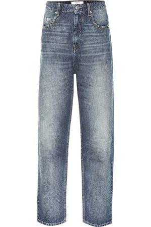 Isabel Marant Naiset Korkeavyötäröiset - Corsyj high-rise carrot jeans