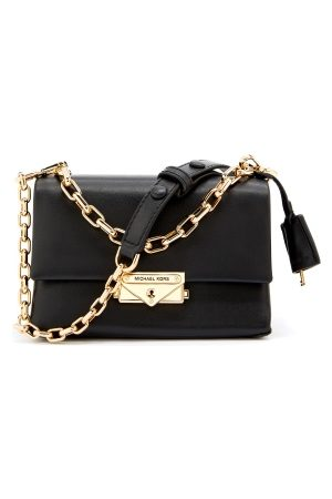 Michael Kors Cece Chain Crossbody Bag Black One size
