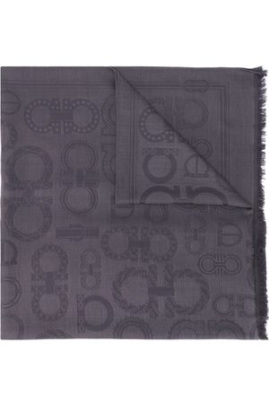 Salvatore Ferragamo Miehet Huivit - Gancini jacquard scarf