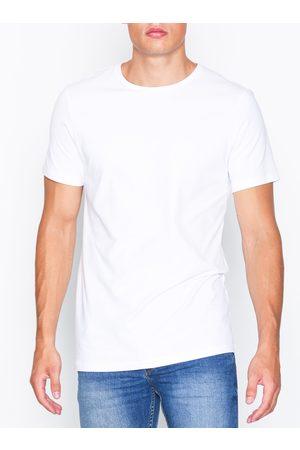 Bread & Boxers Crew Neck T-shirt T-shirts & linnen Vit