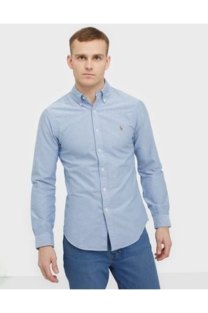 Polo Ralph Lauren Oxford Slim Fit Shirt Skjortor Blue
