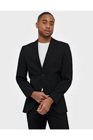 Selected Slhslim-Mylologan Black Blazer B No Kavajer & kostymer Svart