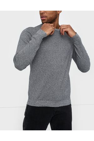 Jack & Jones Jjebasic Knit Crew Neck Noos Tröjor Navy Blazer