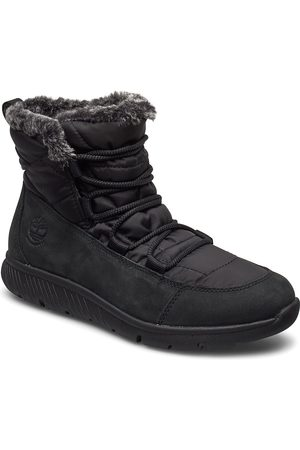 Timberland Boltero Winter Bt Blk Shoes Boots Ankle Boots Ankle Boots Flat Heel