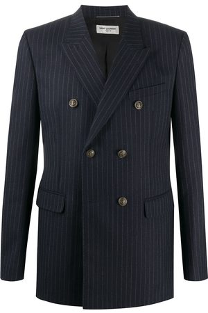 Saint Laurent Pinstriped double-breasted blazer
