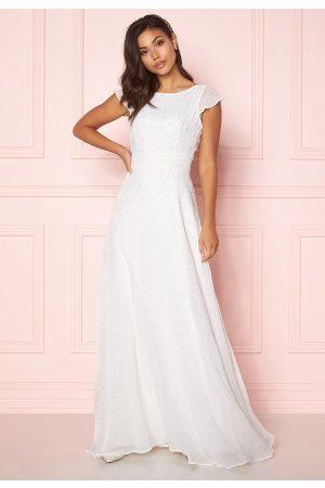 Chiara Forthi Rosanne pearl gown White 36