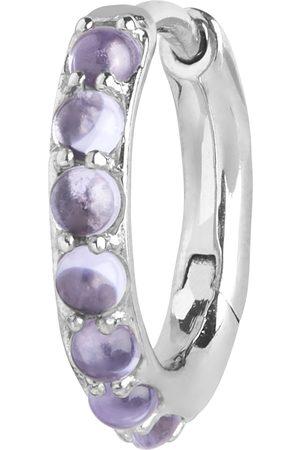 Maria Black Naiset Korvarenkaat - Globo Violet Huggie Accessories Jewellery Earrings Hoops