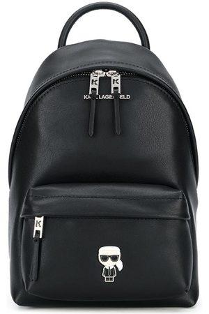 Karl Lagerfeld K/Ikonik metal pin backpack