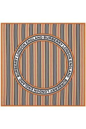 Burberry Icon Stripe logo scarf