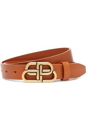Balenciaga Naiset Vyöt - BB leather belt